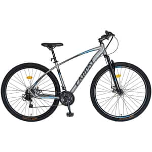 "Bicicleta MTB-HT CARPAT C2957CGN, 29"", cadru aluminiu, gri-negru"