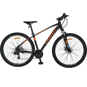 """Bicicleta MTB-HT CARPAT C2957CNP, 29"""", cadru aluminiu, negru-porticaliu"""