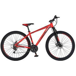 """Bicicleta Mountain Bike-HT CARPAT Spartan C2958C, 29"""", cadru aluminiu, portocaliu-negru"""
