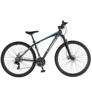 """Bicicleta Mountain Bike-HT CARPAT C2970C, 29"""", cadru aluminiu, negru-albastru"""
