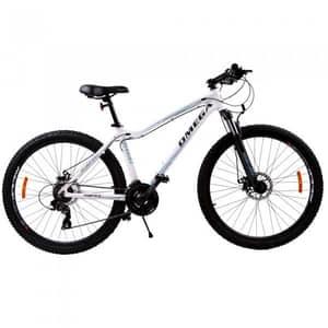 "Bicicleta Mountain Bike OMEGA Camille, 27.5"", alb"