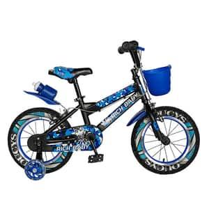 "Bicicleta copii RICH R14WTA, 14"", albastru"