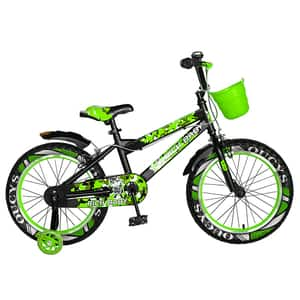 "Bicicleta copii RICH R18WTA, 18"", verde"