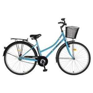 "Bicicleta de oras RICH R2892A, 28"", cadru otel, albastru-negru"