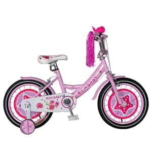 Bicicleta copii RICH BABY TC-01, 16'', roz