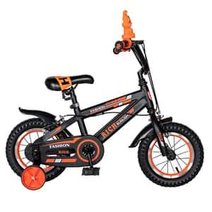 Bicicleta copii RICH BABY TC-02, 12'', portocaliu