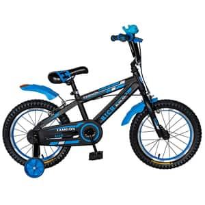 Bicicleta copii RICH BABY TC-02, 16'', albastru