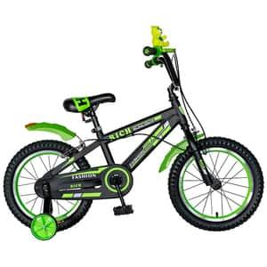 Bicicleta copii RICH BABY TC-02, 16'', verde