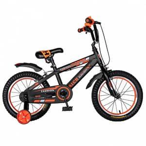"""Bicicleta copii RICH BABY TC-02, 20"""", portocaliu"""