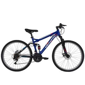 """Bicicleta de munte VELORS V2660D, 26"""", cadru otel, negru-albastru"""