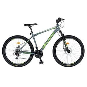 "Bicicleta MTB VELORS V2709A, 27.5"", otel, gri-verde"