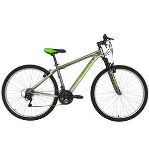 """Bicicleta Mountain Bike-HT VELORS Scorpion V2971A, 29"""", cadru aluminiu, gri-verde"""