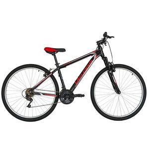 """Bicicleta Mountain Bike-HT VELORS Scorpion V2971A, 29"""", cadru aluminiu, negru-rosu"""