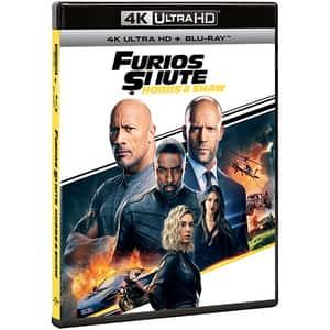 Furios si iute: Hobbs & Shaw 4K + Blu-ray