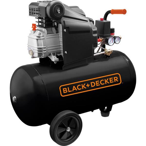 Compresor aer BLACK & DECKER BD 205/50, Electric, cu ulei, 50 litri, 2 CP, 8 Bar