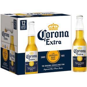 Bere blonda Corona Extra bax 0.355L x 12 sticle
