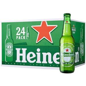 Bere blonda Heineken bax 0.33L x 24 sticle