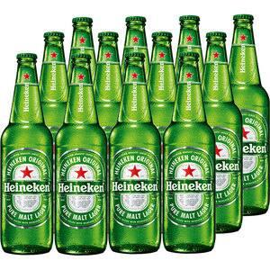 Bere blonda Heineken bax 0.66L x 12 sticle