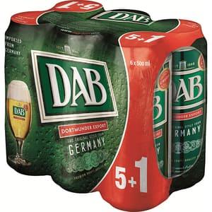 Bere blonda Dab Export bax 0.5L x 6 cutii