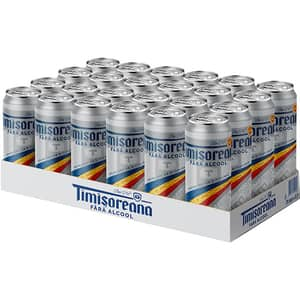 Bere fara alcool Timisoreana bax 0.5l x 24 sticle