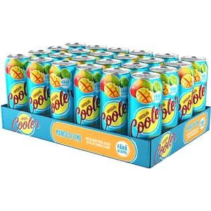 Bere cu arome fara alcool Ursus Cooler Mango bax 0.5l x 24 cutii