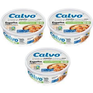 Salata de ton si alac CALVO Ecolinea, 200g, 3 bucati