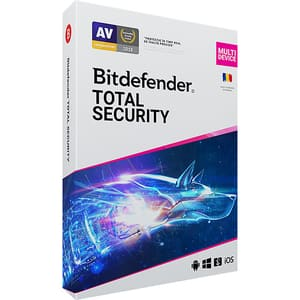 Antivirus BITDEFENDER Total Security 2020, 1 an, 5 PC, Retail