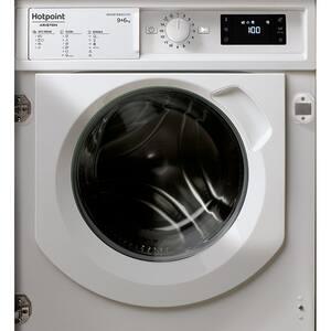 Masina de spalat rufe incorporabila cu uscator HOTPOINT BIWDHG961484EU, 9/6 kg, 1400rpm, Clasa A, alb