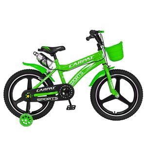 """Bicicleta copii CARPAT C1800AVA, 18"""", verde"""
