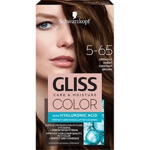 Vopsea de par SCHWARZKOPF Gliss Color, 5-65 Saten Castaniu, 143ml