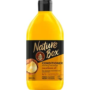 Balsam de par NATURE BOX Macadamia Oil, 385ml
