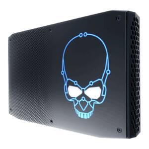 Sistem Desktop PC INTEL BOXNUC8I7HNK2, Intel Core i7-8705G pana la 4.1GHz, No Ram, No HDD, Radeon RX Vega M GL Graphics, Free Dos