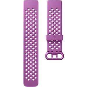 Bratara pentru FITBIT Charge 3 FB168SBLVS, Sport, Small, silicon, Berry
