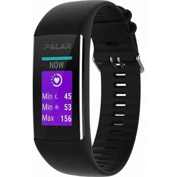 Bratara fitness POLAR A370, Android/iOS, Medium/Large, negru