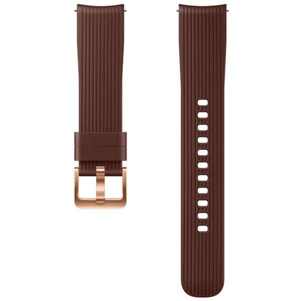Bratara pentru SAMSUNG Galaxy Watch, ETYSU81MAEGWW, 42mm, silicon, maro