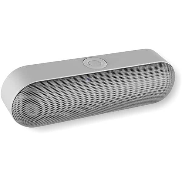 Boxa portabila SAL BT 2500, Bluetooth, Radio FM, MicroSD, argintiu