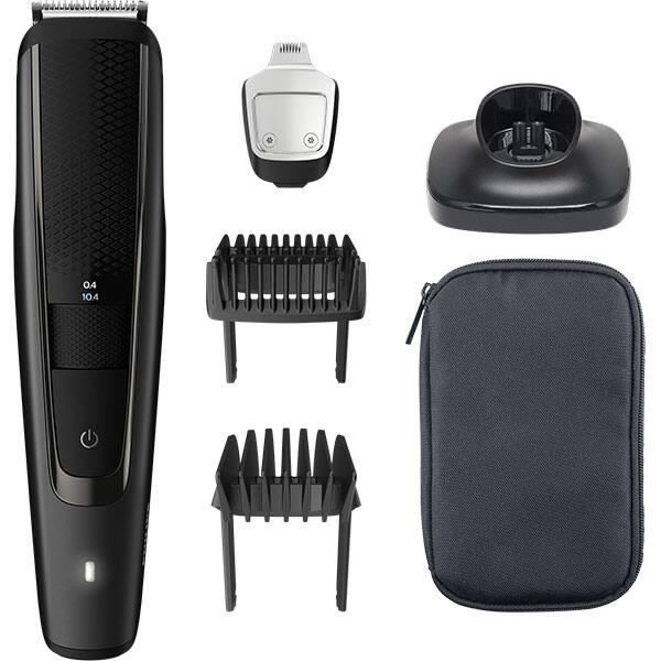 Aparat de tuns barba PHILIPS BT5515/15, aumulator, 90 min autonomie, negru