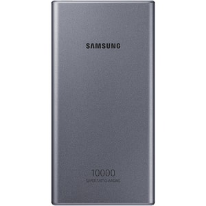 Baterie externa SAMSUNG EB-P3300XJEGEU, 10000 mAh, Type C, gri inchis