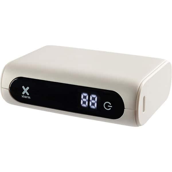Baterie externa XTORM Power Bank Go XG1020, 10000mAh, 1xType C, 1xUSB, alb