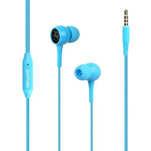 Casti PROMATE Bent, Cu Fir, In-ear, Microfon, albastru