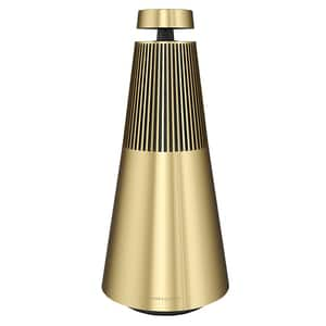 Boxa BANG & OLUFSEN BeoSound 2 GVA Natural Brushed, 101 W RMS, Bluetooth, brass tone