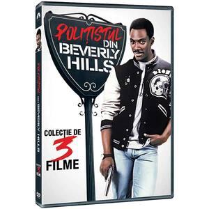 Trilogia Politistul din Beverly Hills DVD
