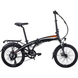 Bicicleta electrica pliabila MYRIA Road Traveller TNT-5, 20 inch, negru