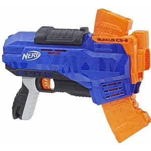 Blaster NERF N-Strike Elite Rukkus ICS 8, 8 ani+, multicolor