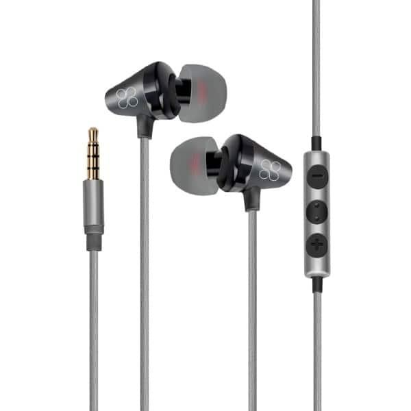 Casti PROMATE Clavier, Cu Fir, In-Ear, Microfon, negru