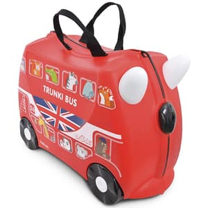 Troler copii TRUNKI Boris London Bus, 46 cm, rosu