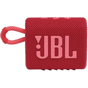 Boxa portabila JBL Go 3, Bluetooth, Waterproof, rosu
