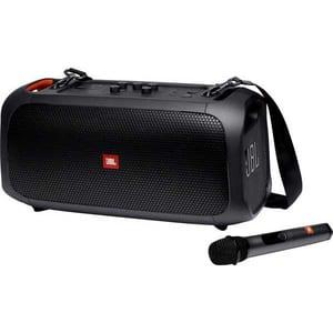 Boxa portabila JBL PartyBox On-The-Go, 100W, Bluetooth, Waterproof, USB, Karaoke, Microfon inclus, negru
