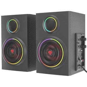 Boxe gaming GENESIS Helium 300BT ARGB, 2.0, 24W, Bluetooth, negru