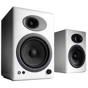 Boxe AUDIOENGINE A5+, 100W RMS, Bluetooth, alb